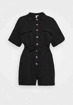 Nly by Nelly - WORKWEAR PLAYSUIT - Combinaison - black