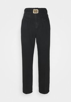 Pinko - CHERYL TROUSERS - Jeans Relaxed Fit - black