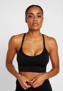 Hunkemöller - THE COMFORT STRAPPY - Sport BH - black