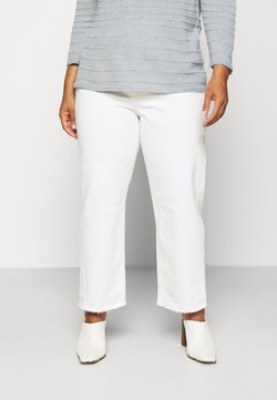 Levi's® Plus - RIBCAGE STRAIGHT ANK - Jeans relaxed fit - cloud over