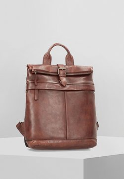 Greenburry - VINTAGE WASHED CITY - Tagesrucksack - coffee