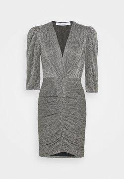 Iro - CLUZCO - Shift dress - black/silver