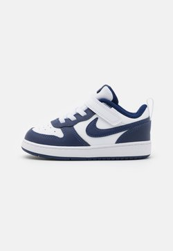 Nike Sportswear - COURT BOROUGH 2 - Matalavartiset tennarit - white/blue void/signal blue