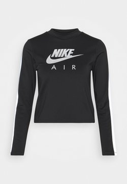 Nike Performance - AIR MID - T-shirt sportiva - black/silver