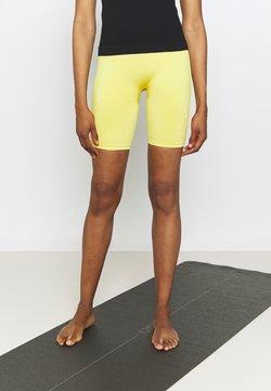 ARKET - REX SEAMLESS SHINY  - Tights - yellow