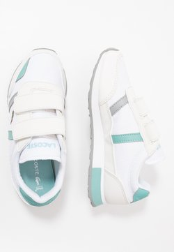 Lacoste - PARTNER  - Sneaker low - white/turquoise