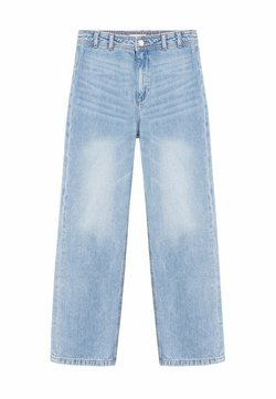 Mango - HONEY - Jeans Relaxed Fit - middenblauw
