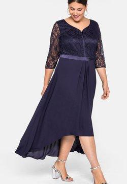 Sheego - Cocktailkleid/festliches Kleid - dunkellila