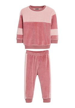 Next - SWEATSHIRT AND JOGGERS - Survêtement - pink