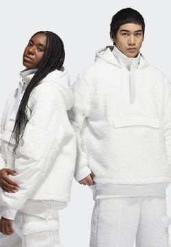 adidas Originals - IVY PARK 1/2 ZIP SHERPA LAYERED JACKET (ALL GENDER) - Bomber Jacket - core white