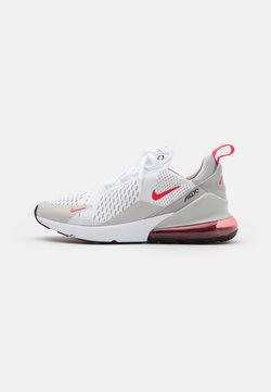 Nike Sportswear - AIR MAX 270 - Sneaker low - white/light fusion red/grey fog/black