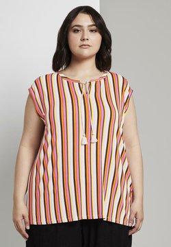MY TRUE ME TOM TAILOR - T-Shirt print - mutlicolor stripe