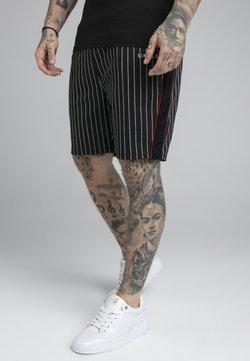 SIKSILK - IMPERIAL - Shorts - pinstripe