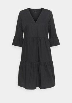 More & More - DRESS SHORT - Freizeitkleid - black