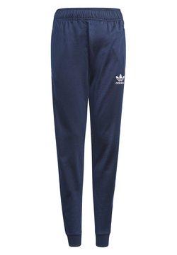 adidas Originals - ADICOLOR SST TRACK PANTS - Træningsbukser - collegiate navy/white