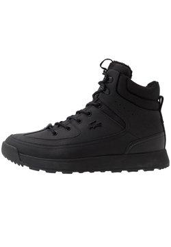 Lacoste - URBAN BREAKER - Sneaker high - black