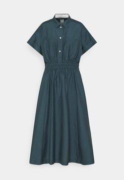 Paul Smith - WOMENS DRESS - Shirt dress - petrol