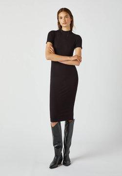 PULL&BEAR - Sukienka etui - black