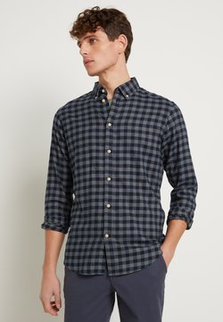 Selected Homme - SLHSLIMFLANNEL SHIRT - Chemise - dark blue