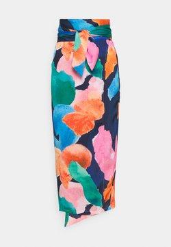 Never Fully Dressed Tall - ARTIST PRINT JASPRE  - Kietaisuhame - navy/multi