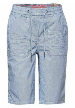 Cecil - Shorts - white/blue