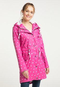 Schmuddelwedda - Regenjacke / wasserabweisende Jacke - pink aop