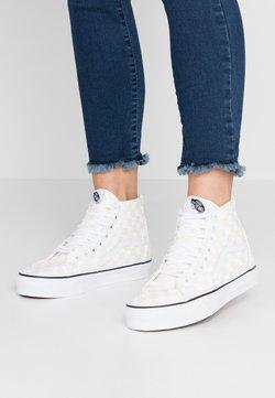Vans - SK8 TAPERED - Sneakersy wysokie - white/true white