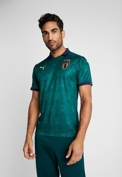 Puma - ITALIEN FIGC THIRD SHIRT REPLICA - Voetbalshirt - Land - ponderosa pine/peacoat