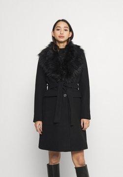 Vila - VIMATHILDA JACKET - Classic coat - black