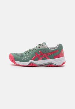 ASICS - GEL-CHALLENGER 12 - Zapatillas de tenis para todas las superficies - slate grey/pink cameo