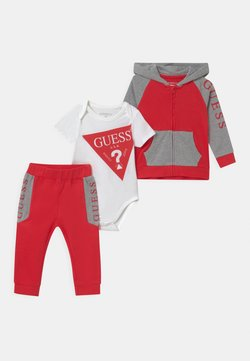 Guess - BABY SET UNISEX - Survêtement - red