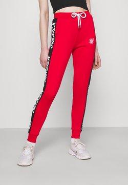 SIKSILK - CHASER TRACK PANT - Jogginghose - red