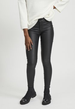 Vila - VICOMMIT - Jeans Skinny Fit - black