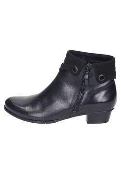 Piazza - Stiefelette - black
