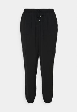 Zizzi - CAJOY LONG PANT - Pantalon classique - black