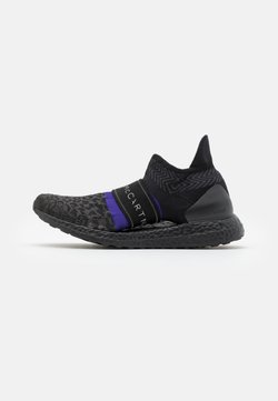 adidas by Stella McCartney - ULTRABOOST X 3.D. KNIT S. - Laufschuh Neutral - core black/collegiate purple