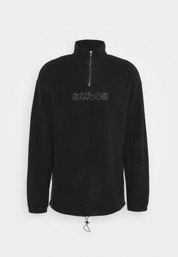 YOURTURN - UNISEX - Fleecepullover -  black