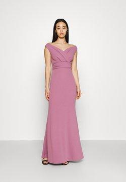 WAL G. - ANDREW OFF SHOULDER DRESS - Festklänning - mauve pink
