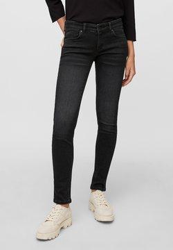 Marc O'Polo - Jeans Skinny Fit - deep black stretch wash