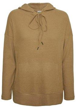 Noisy May - Felpa con cappuccio - beige/camel