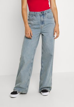 BDG Urban Outfitters - EMBROIDERED PUDDLE  - Jeans baggy - summer vintage