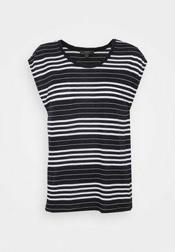 Esprit Collection - STRIPE TEE - T-Shirt print - black