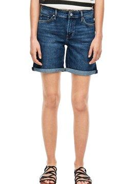 s.Oliver - Jeans Shorts - blue denim stretch
