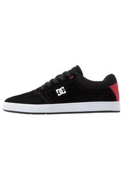 DC Shoes - CRISIS - Skateschoenen - black/red/white
