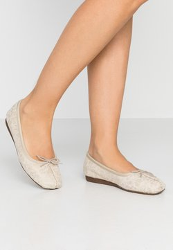 Clarks Unstructured - FRECKLE ICE - Ballerines - offwhite