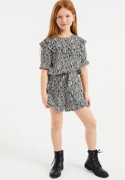 WE Fashion - MET ZEBRADESSIN EN VOLANT - Blouse - all-over print