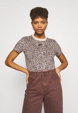 Nike Sportswear - PACK TEE - T-Shirt print - beige