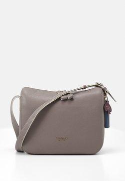kate spade new york - MEDIUM SHOULDER BAG - Across body bag - mineral grey