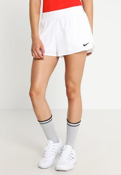 Nike Performance - FLEX - Träningsshorts - white/black