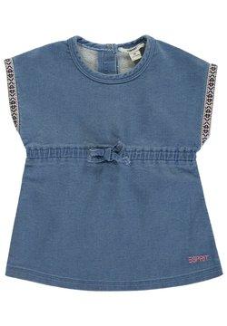 Esprit - Jeanskleid - blue bleached
